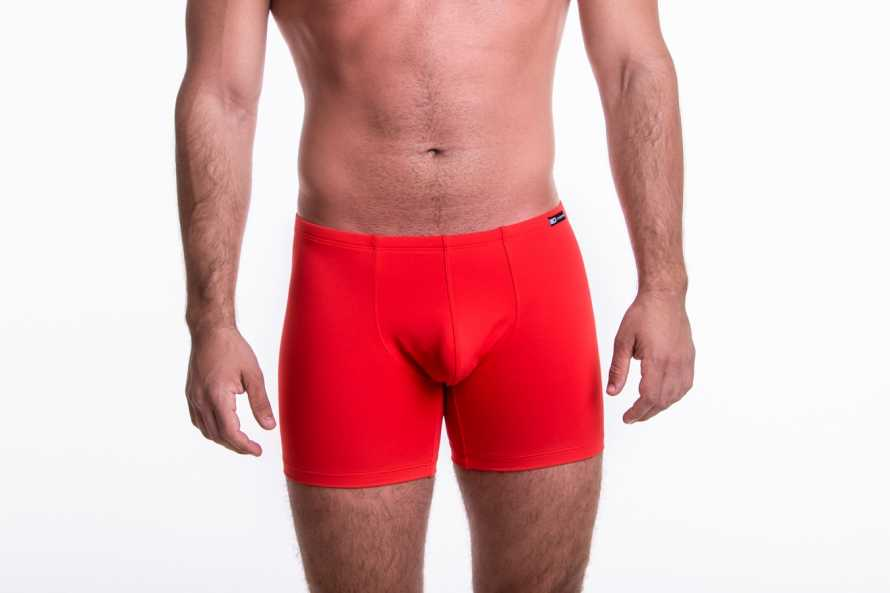 Boxer long Red