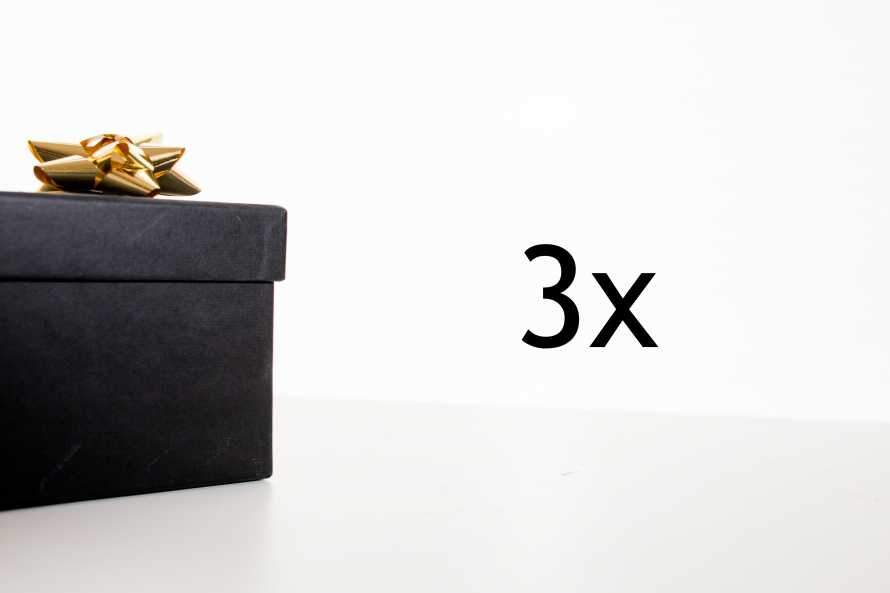 Surprise pack - 3 pieces