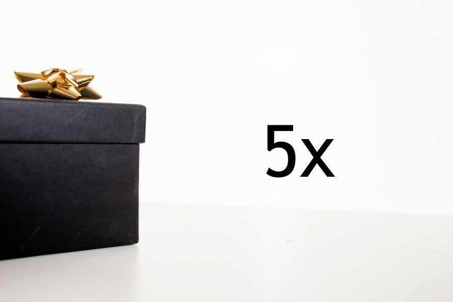 Surprise pack - 5 pieces